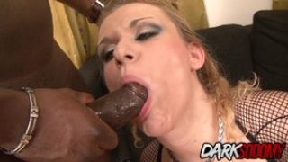 Anita Vixen Gets a Rough DP by Two Hard BBCs