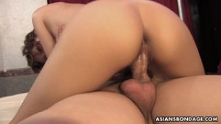 Cute Yui Shimizu got doublefucked during a casual threesome