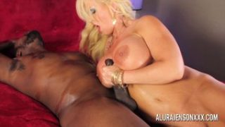 Sexy Busty MILF Alura Jenson with his BBC